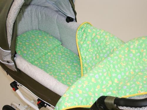 Матрас и подушка в коляску своими руками